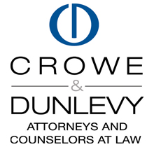 Crowe & Dunlevy Attorneys and Counselors at Law Logo